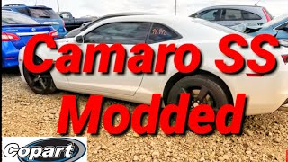 Camaro SS Modded Awesome Cold Start COPART Rebuild