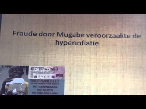 Hyperinflatie in Zimbabwe
