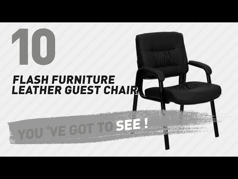 Flash Furniture Leather Guest Chair // New & Popular 2017