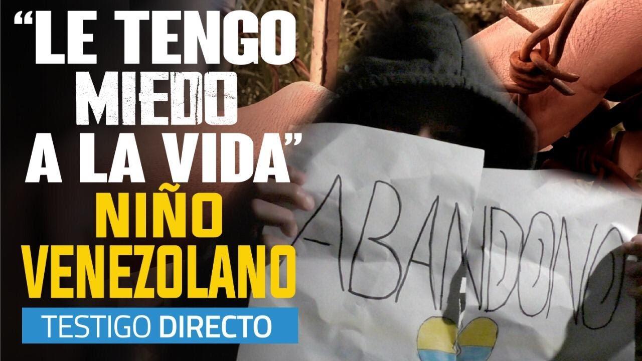 Niños venezolanos abandonados en Colombia - Testigo Directo