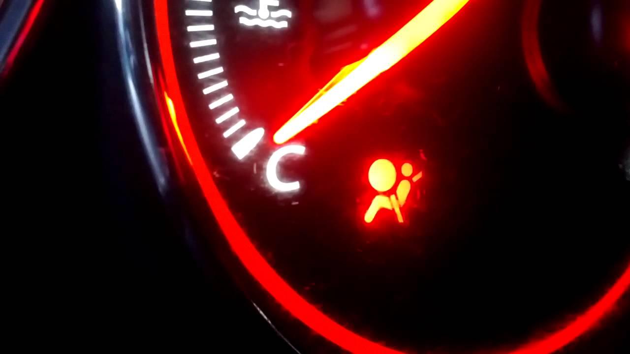 Honda Civic Coupe 2005 Airbag Light Srs Code