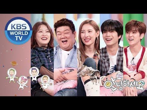 Guests : Yoo Minsang, Shim Jinhwa, Sunmi, NU'EST W'S JR & Ren[Hello Counselor/ENG,THA/2018.09.17]