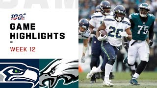 Seahawks vs. Eagles Week 12 Highlights | NFL 2019