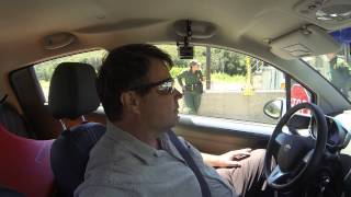 Pine Valley, California, US Border Patrol Checkpoint Stop, Immigration Refusal Inspection