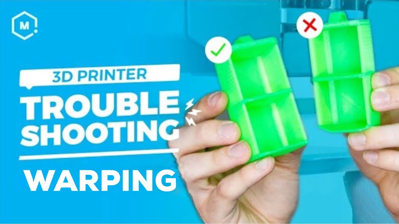 How to Stop Filament Warping in 3D Printed Parts | MatterHackers