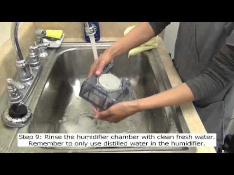 Cleaning your CPAP or Bi-PAP unit