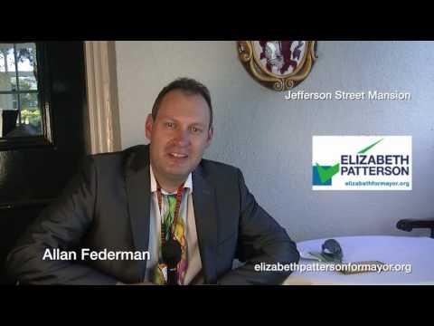 Allan Federman is voting for Elizabeth Patterson 2016
