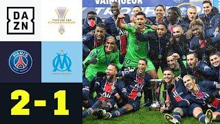Icardi & Neymar bescheren Pariser Triumph: PSG - Marseille 2:1 | Trophée des Champions | DAZN