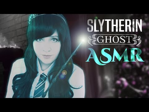 Christmas ASMR - Slytherin Ghost Roleplay - The Ghosts of Hogwarts - Christmas Collab
