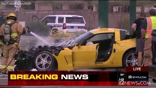 Todd Munson's Chevrolet Corvette vs Phoenix Police - Speed Chase - March 15, 2017