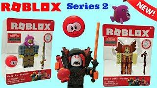 Roblox Toys Serie 2, Meep City Fisherman, Vampir, Treelands, Unboxing & Spielzeug Bewertung #robloxtoys
