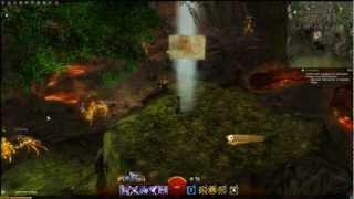 Guild wars 2 : Wild Flame Caverns Vista FASTEST way !