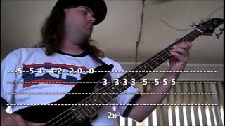 Creedence Clearwater Revival - Have you ever seen the rain? (Bass Lesson w\Tab)