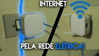 Internet Direto da Sua rede elétrica! Funciona graças a este dispositivo. IMPRESSIONANTE!