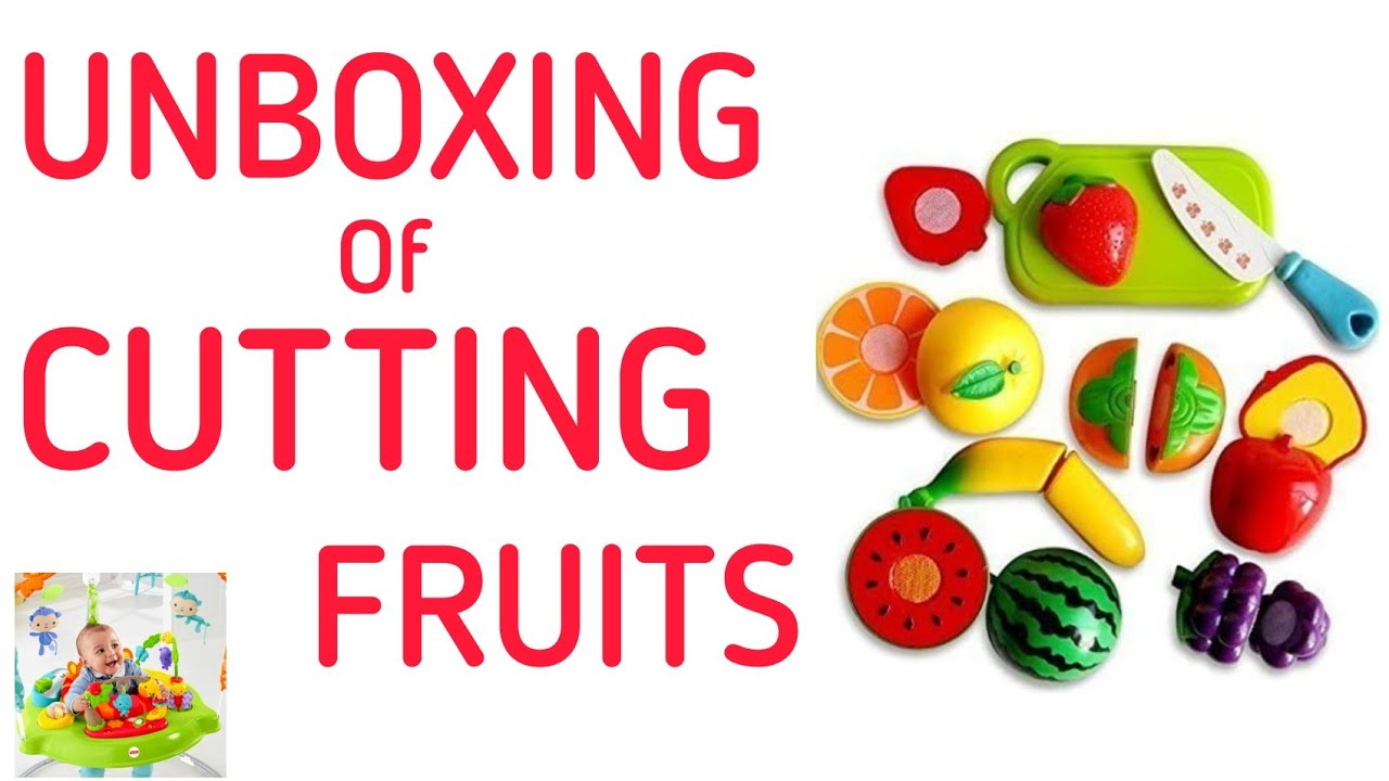UNBOXING of CUTTING FRUITS | Baby Toys |