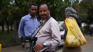Wolde at Medhane Alem Cathedral, Bole, Addis Ababa, Ethiopia