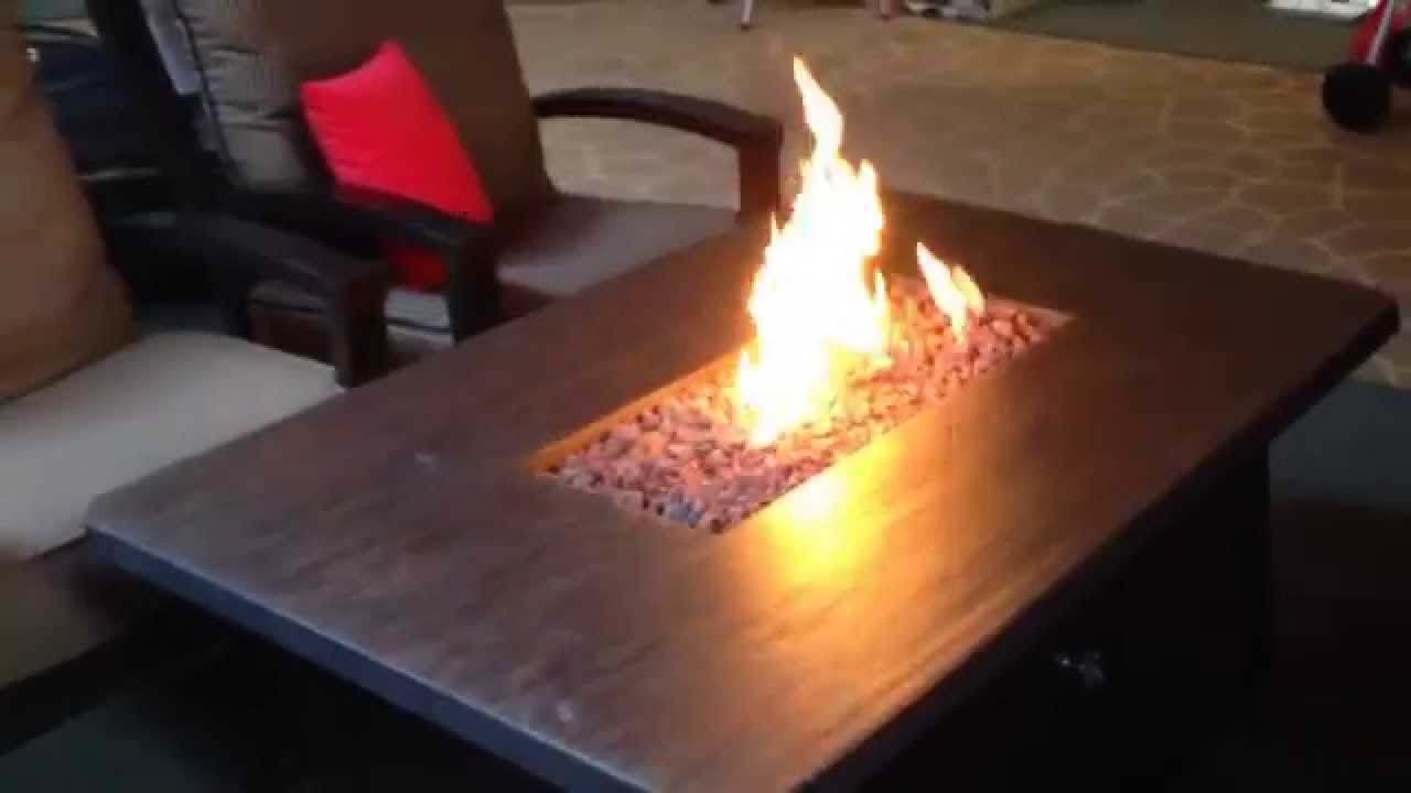 Fire Pit Bbq Galore Part - 49: Barbecues Galore Woods Fireplaces - Patio Renaissance Firepit Table -  YouTube