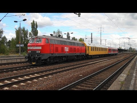Trains at Berlin Schönefeld Flughafen 9 september 2015