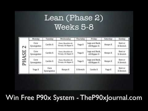P90x Workout Schedule - What is P90x? Find Out What to Expect