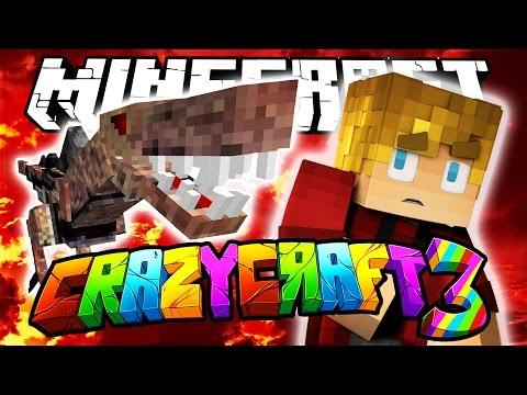 Minecraft Crazy Craft 3.0: JURASSIC WORLD? #6