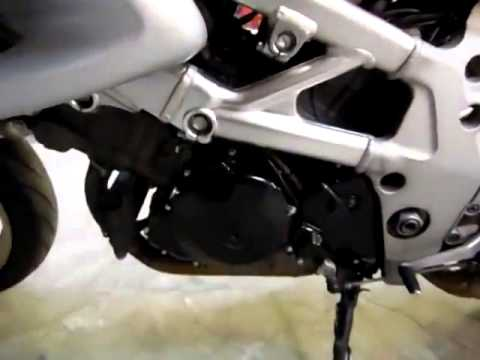 Проверка двигателя Suzuki TL1000S в Японии