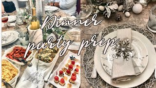 DINNER PARTY PREP WITH ME! FOOD AND SETUP {GABRIELLAGLAMOUR}