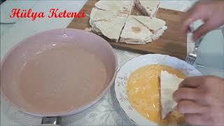 Kahvaltılık Yumurtalı Lavaş Börek - Hülya Ketenci - Kahvaltılık Tarifler