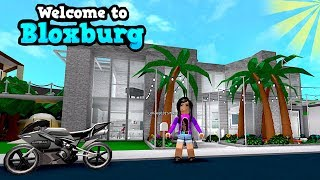 WOW! FAN BLOXBURG HOUSE TOUR!!! ROBLOX | FAMBAM GAMING | MOM PLAYS