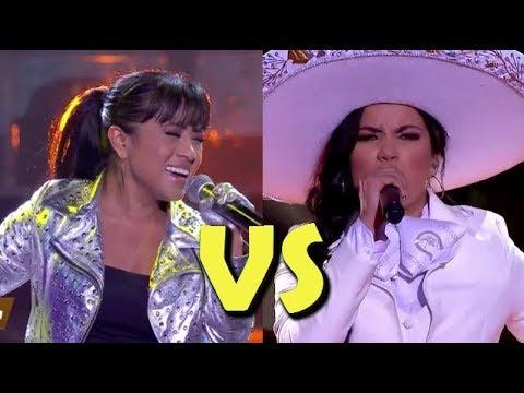 Paola Vs Silvia Batalla Vocal La Academia 2018