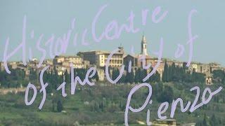 1分世界遺産 92 ピエンツァ市街の歴史地区 イタリア⑰