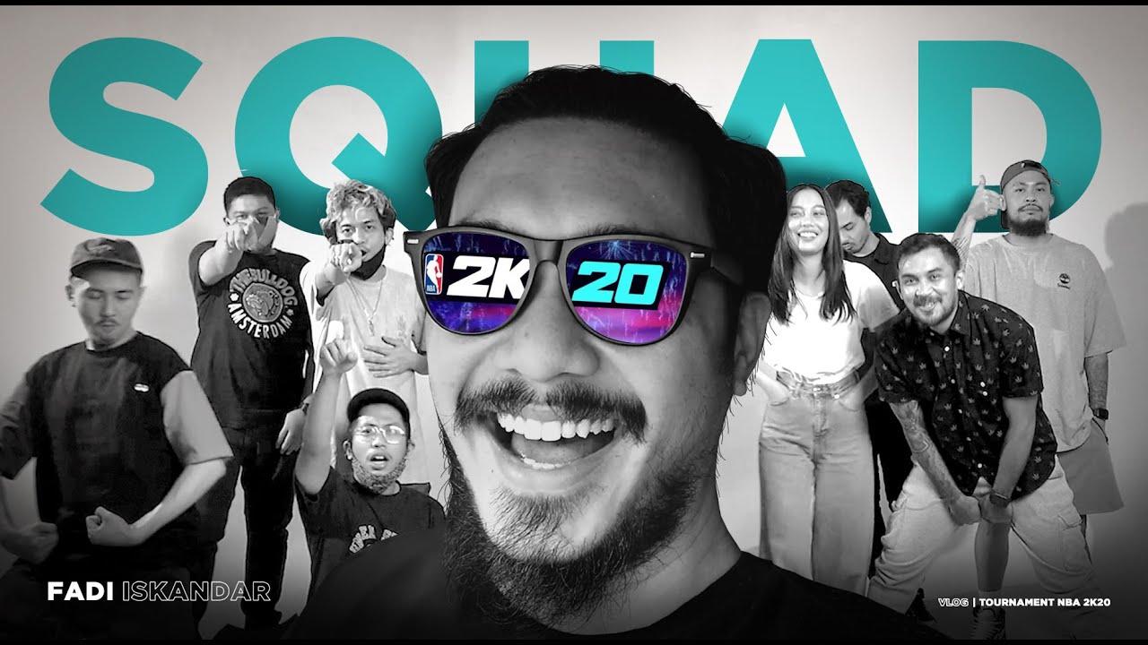 NBA 2K20 Tournament - Ada yang disemangatin jadi menang! | Fadi Vlog