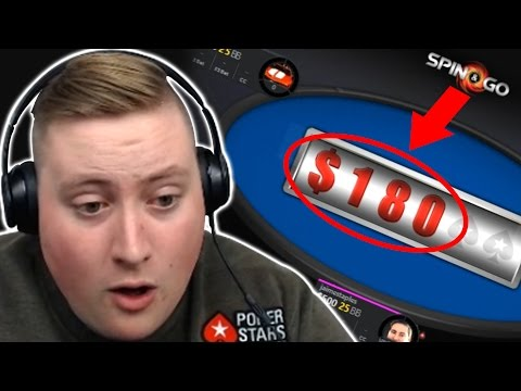 SPIN & GO CHALLENGE!!!  PokerStaples Stream Highlights 13th Dec 2016