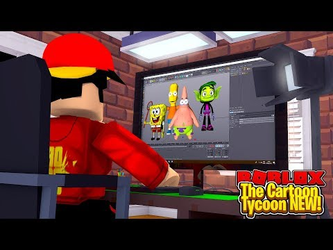 ROBLOX - THE NEW CARTOON TYCOON!!!