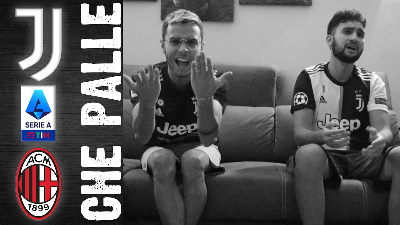 CHE PALLEEE!! SERIE B ARRIVIAMOOO!! JUVENTUS-MILAN 1-1 | LIVE REACTION TIFOSI JUVENTINI
