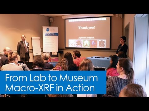 Complete Talk: From Lab to Museum: Macro-XRF in Action