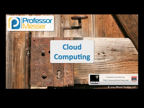 Cloud Computing - CompTIA Security+ SY0-401: 1.3