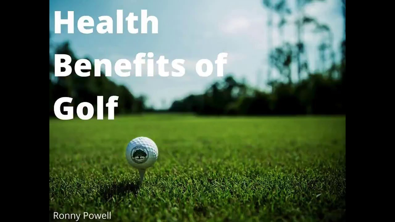 7 Health Benefits of Playing Golf