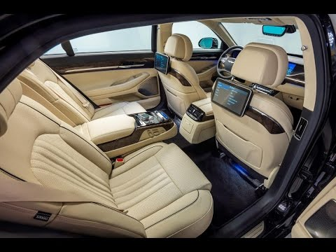 2017 GENESIS G90 A view from the Back seat