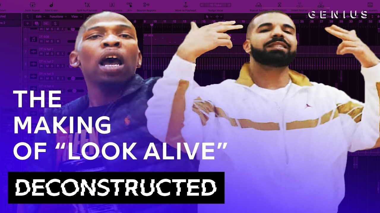 "The Making Of BlocBoy JB & Drake's ""Look Alive"" With Tay Keith 