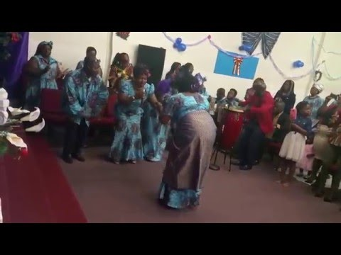 Esther Weah and the Dialect Choir of Africa Faith