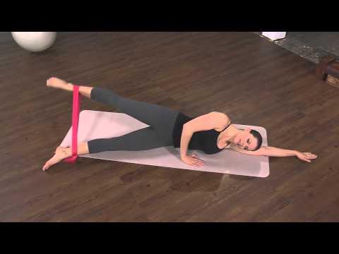 the firm pilates band workout doovi. Black Bedroom Furniture Sets. Home Design Ideas