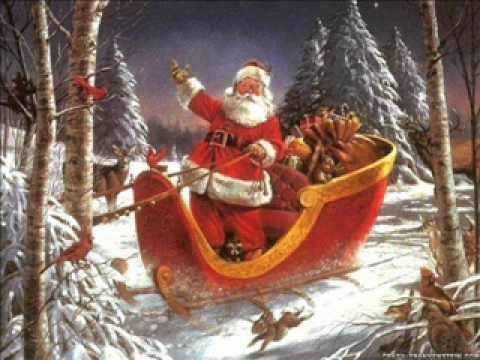 NEW Christmas Song - Santa In The Sky With Sleigh Bells - YouTube