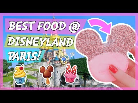 FooD DIARY! DISNEYLAND PARiS 🌟 yum yum!