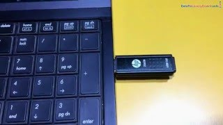 Recover 256 GB HP USB Flash drive data using Pen Drive Recovery Software
