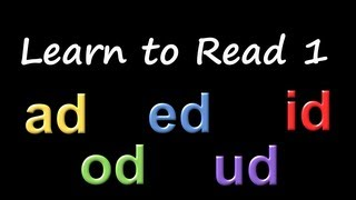 Learn to Read 1: Phonics & Rhyming - The Kids