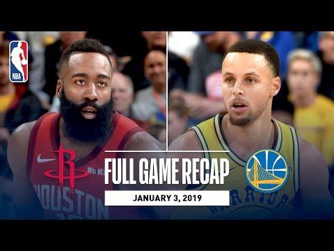 Full Game Recap: Rockets vs Warriors | Overtime Thriller In Oracle