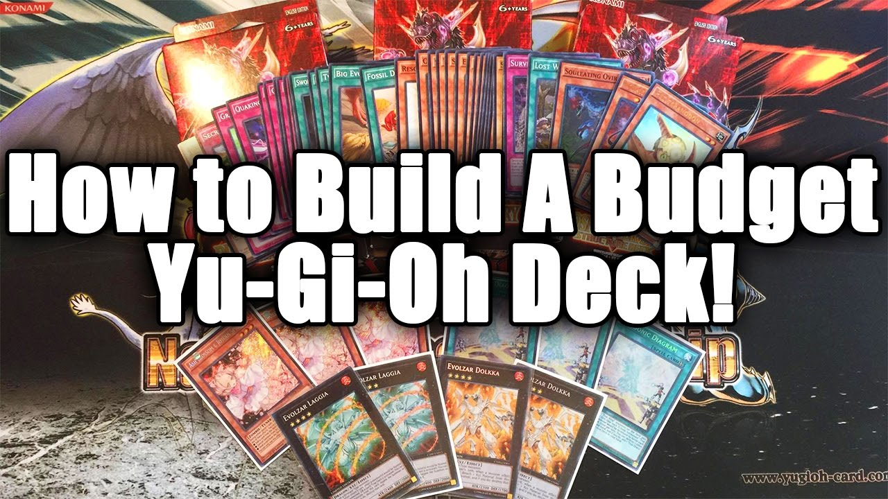 How To Build The Best Competitive Yugioh Deck On A Budget Youtube