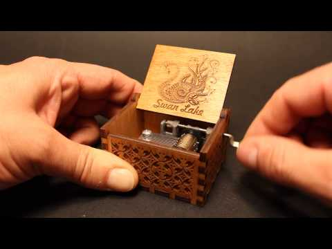 Swan Lake - Tchaikovsky - Music box by Invenio Crafts