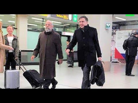 Саакашвили заметили в Амстердаме