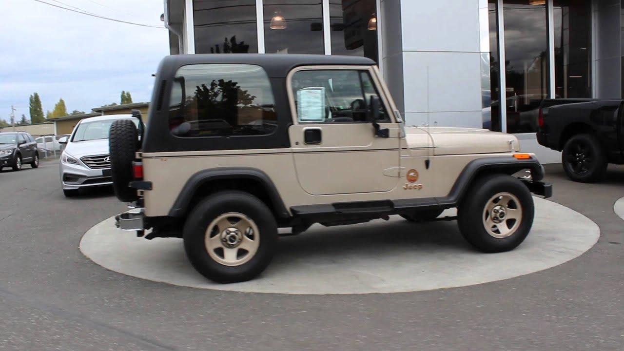 1994 Jeep Wrangler Sahara YJ | Gold | RP419023 | Mt Vernon | Skagit